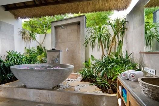 Tropical Bathroom With Plants Part 51