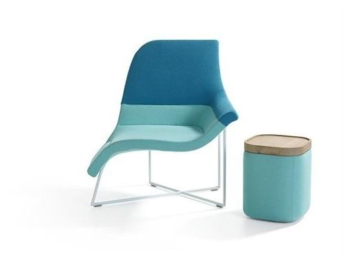UNStudio for Artifort - Gemini lounge chair-at Milan Design Week