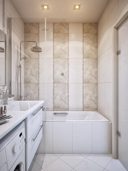 Very small and luxury bathroom