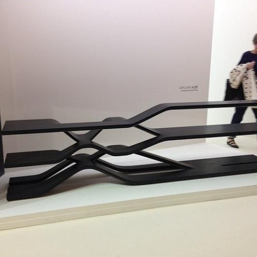 Zaha Hadid for Citco - Modern Tela Shelving in black-at Milan Design Week