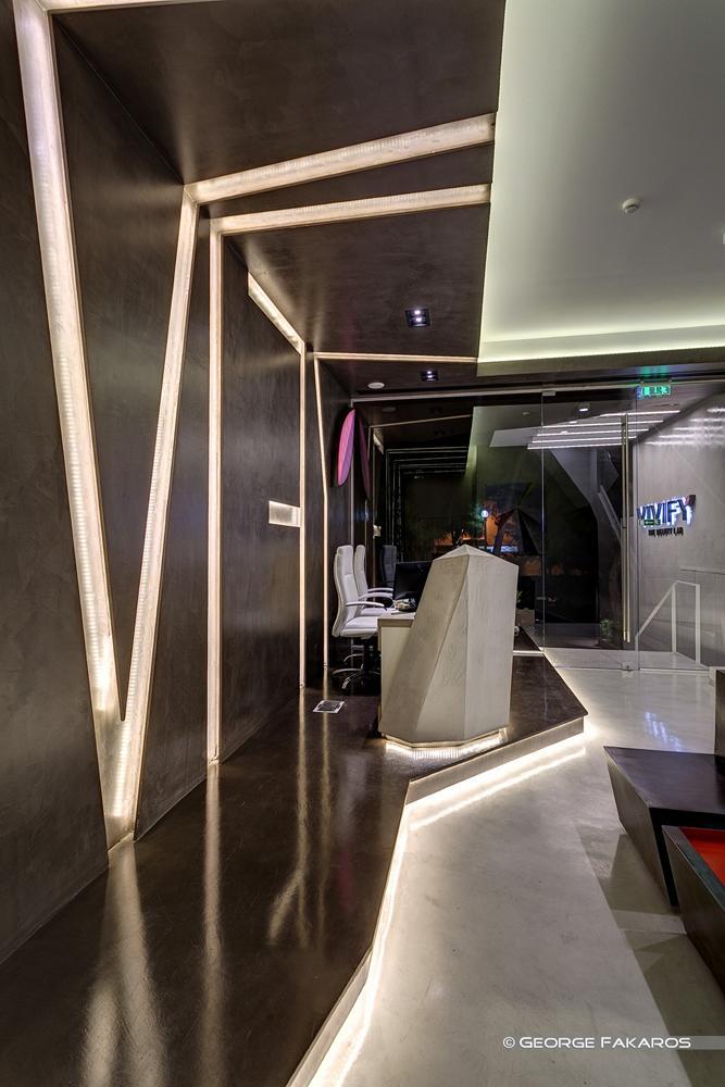 minimalist wellness center the reception desk