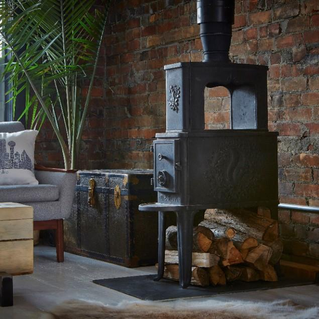Beautiful Vintage Accents in a Modern Eclectic Home