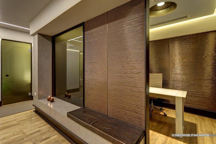private room in the welness studio