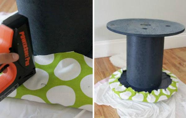 Stool being created - great home DIY ideas