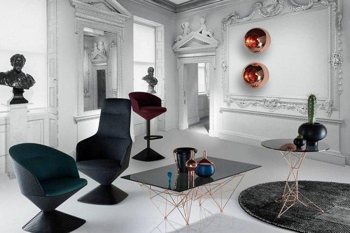 Contemporary eclectic approach for a modern concept for British Gentleman's Club