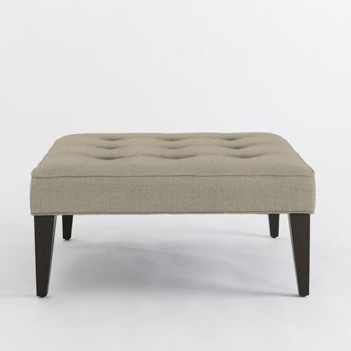Linen stool for legs in modern design