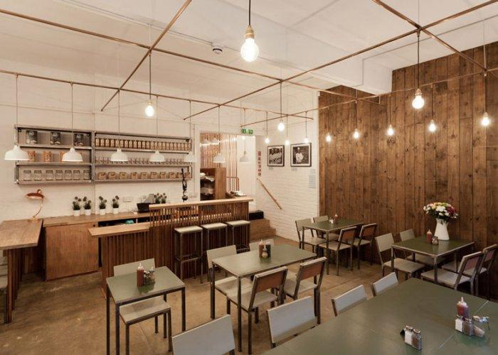 East London Cafe Interior Design By Twistinarchitecture
