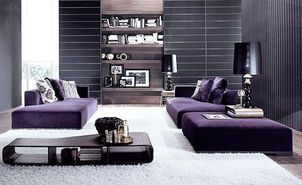 Element in that room loved by all luxurious interior for Low living room furniture
