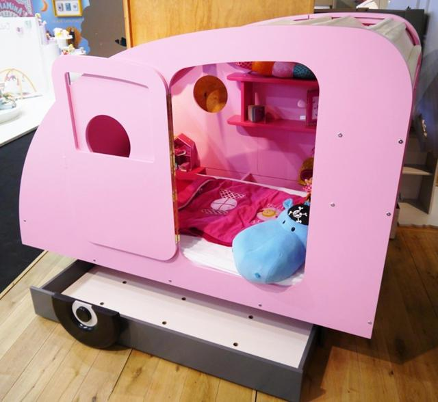 Tent caravana in pink perfect for your girl's room
