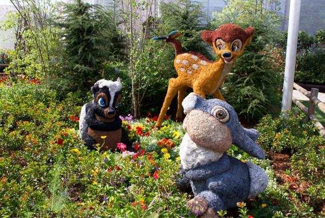 Cartoon Characters as Lovely Garden Art Scupltures