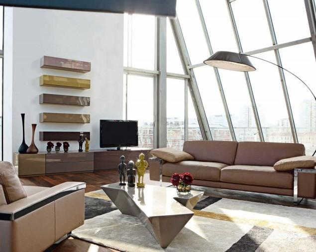 Interior Design using Chocolate Color as Inspiration