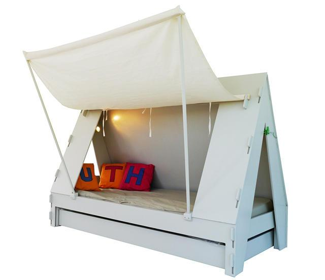 creative kid 39 s room ideas with tent caravans founterior. Black Bedroom Furniture Sets. Home Design Ideas