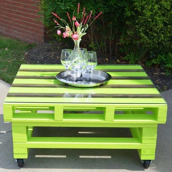 Pallet Furniture - How, Why and Where to Use It