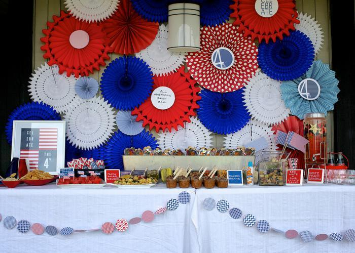 4th Of July Decor 4th of july decorations and outdoor party ideas | founterior