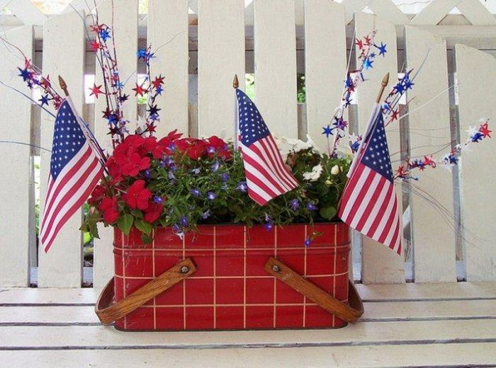 4th Of July Home Decorations In Americana Style