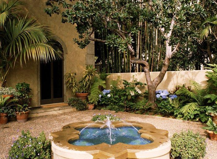 Landscape design ideas the mediterranean garden founterior for Italian garden design