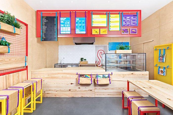 Small Restaurant Interior Design - KesSalao in Bonn, DE | Founterior
