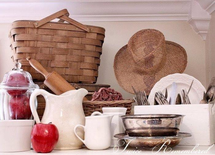 Kitchenware and flatware for 4th of July picnic