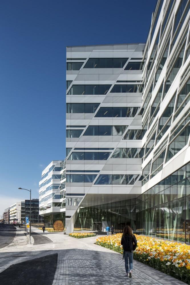 Modern bank in Sweden - Swedbank