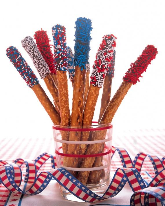 Pretzel Sparklers are traditional sweets that the kids love to eat on holidays