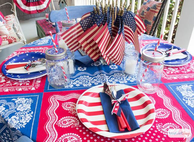 July Party Ideas With Food Decorations