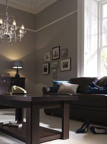 Brown Furniture Living Room Decor: 16 Brown Living Room Charming Interior Designs