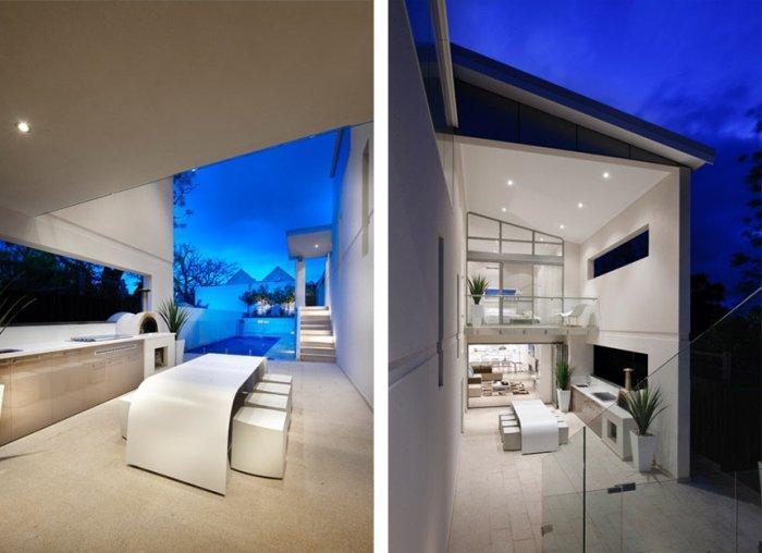 Contemporary house design - highlights of the coastal home