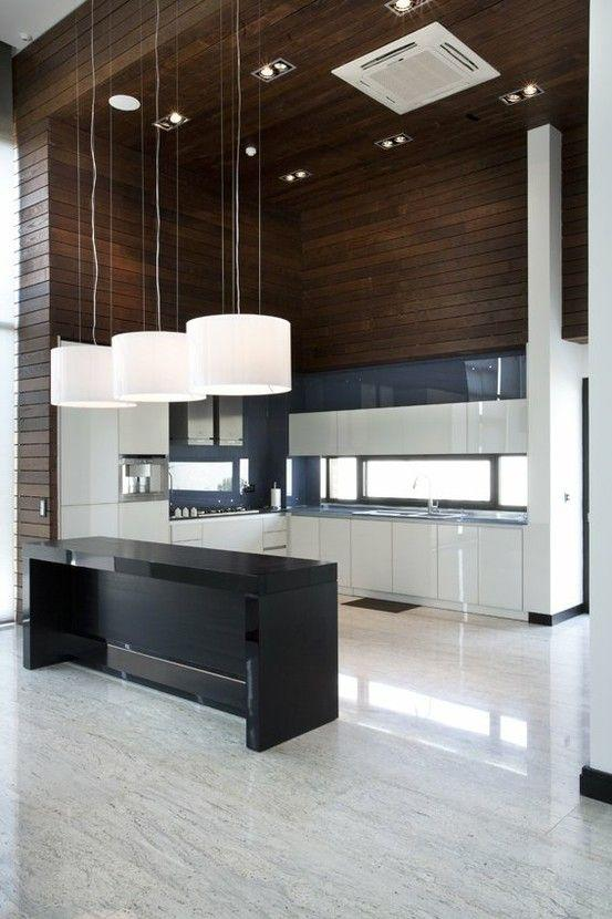 Modern kitchen designs for a contemporary home founterior for Modern kitchen design