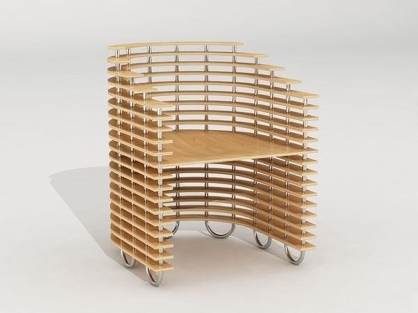 Creative wood chair by Svilen Gamolov