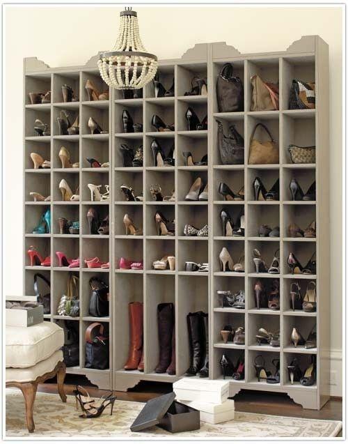 Cubbies storage for woman shoes