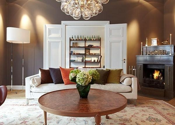 Stylish Eclectic Scandianvian Loft Interior in Stockholm