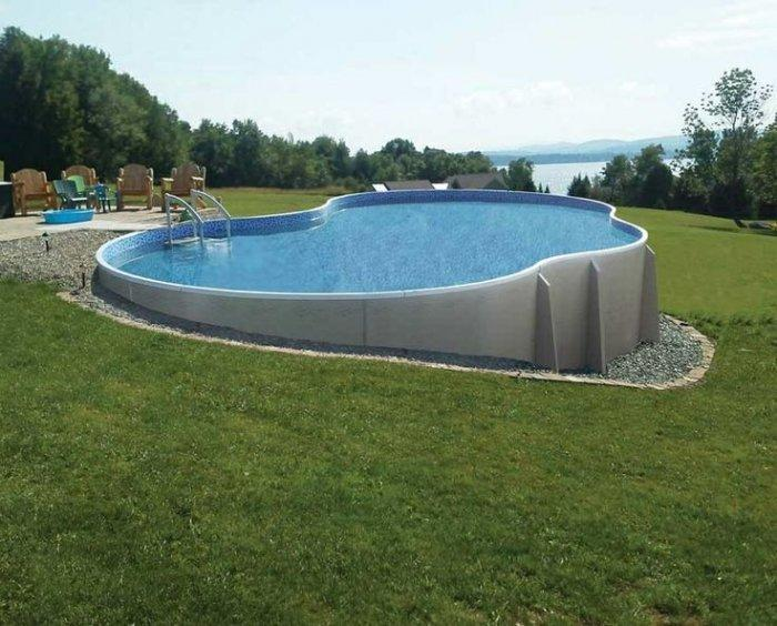 16 Stylish Outdoor Above The Ground Swimming Pools