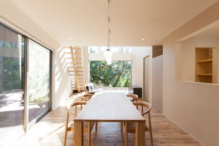 Japense dining room in a small house