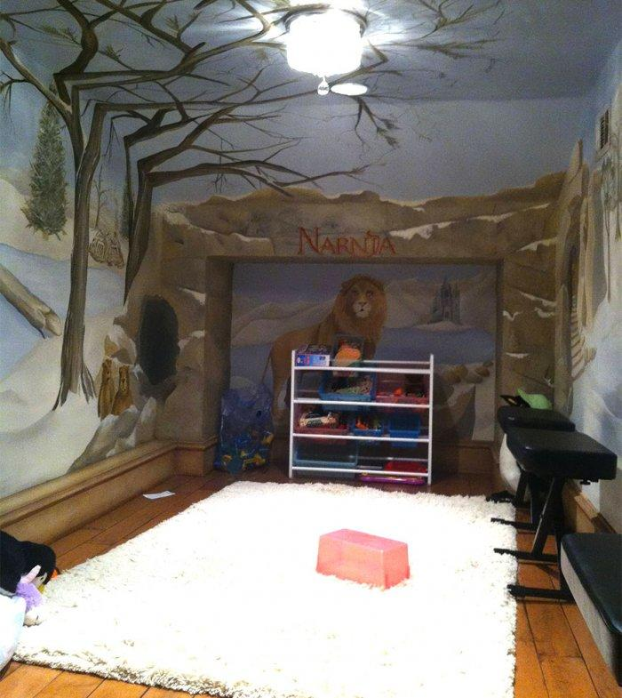Kids' room from the Chronicles of Narnia
