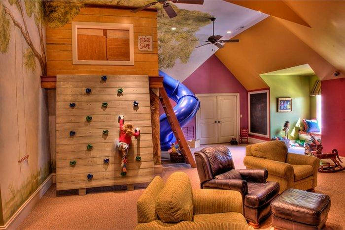 Kids' room interior for adventure games