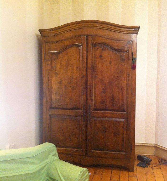 Kids' room with the wardobre from Narnia