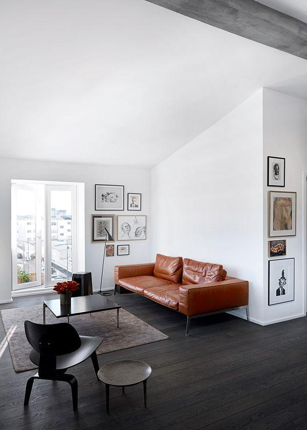 Amazing Leather Sofas In White Black And Brown Founterior