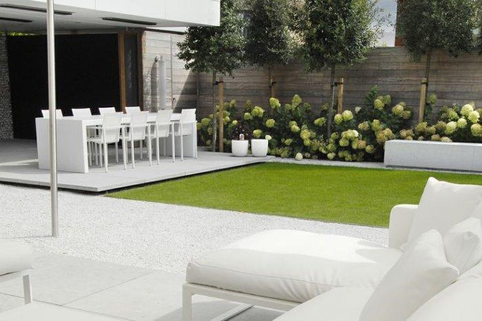 Minimalist garden and landscape design ideas founterior for Jardin contemporain