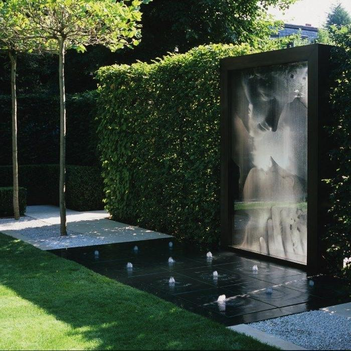 Modern Outdoor Water Features Designs