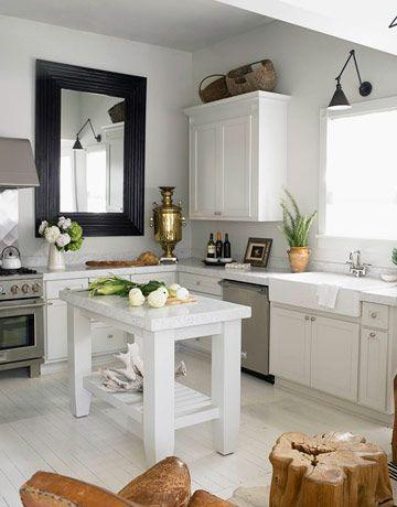 Small Traditional Kitchen 15 examples of white kitchen interior design ideas | founterior