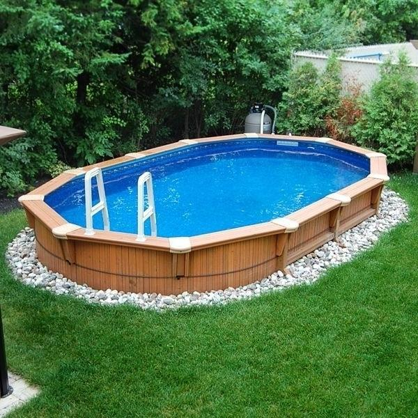 15 Tiny Outdoor Garden Ideas For The Urban Dweller: 16 Stylish Outdoor Above The Ground Swimming Pools
