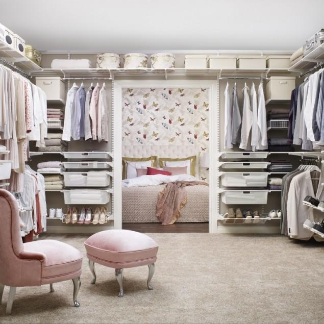 Bedroom Closets - Shabby Chic Interior Design Ideas