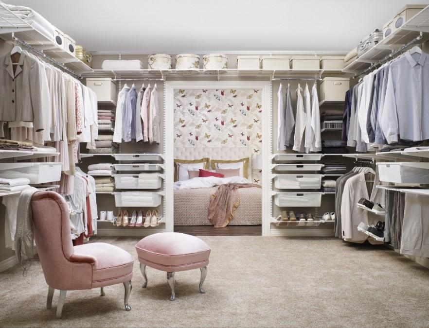 Bedroom Closets - Shabby Chic Interior Design Ideas