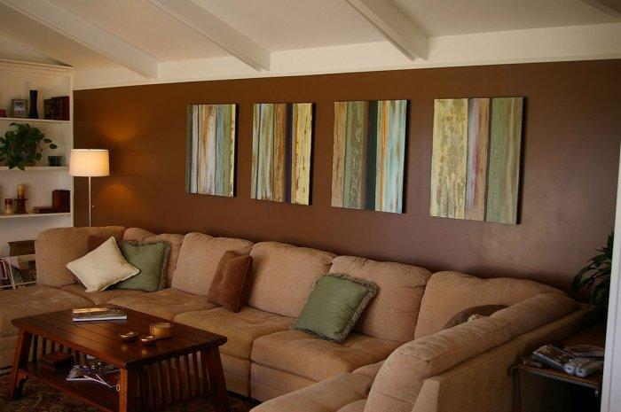 36 Charming Living Room Ideas: 16 Brown Living Room Charming Interior Designs