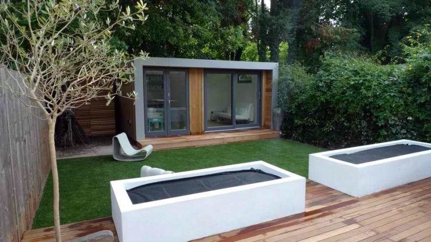 Contemporary Minimalist Garden And Landscape Ideas Founterior