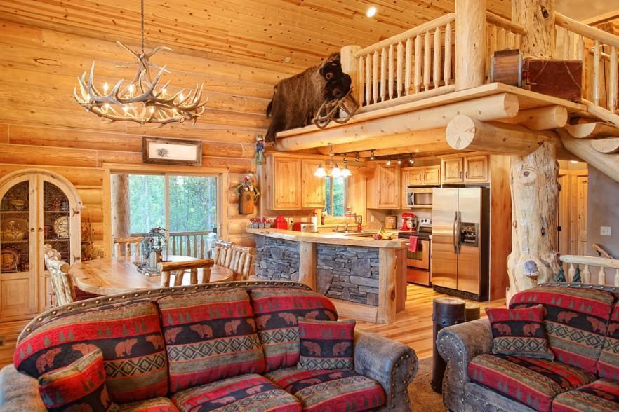 Impressive Rustic Cabin And Cottage Interior Designs Founterior
