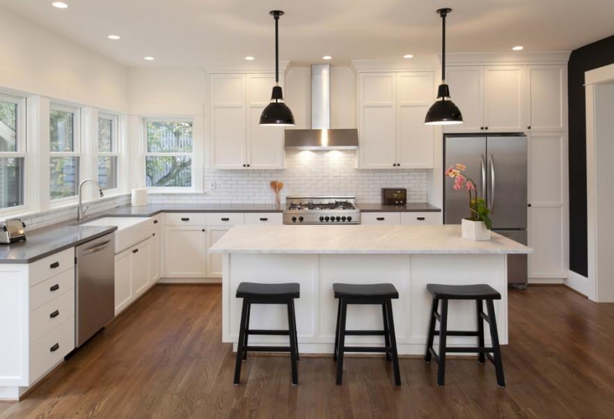 15 Examples Of White Kitchen Interior Design Ideas Founterior