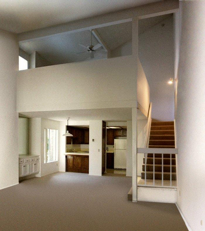 Contemporary room - at the stage of renovation