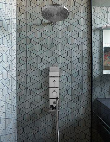 Creative tiles - for the shower area