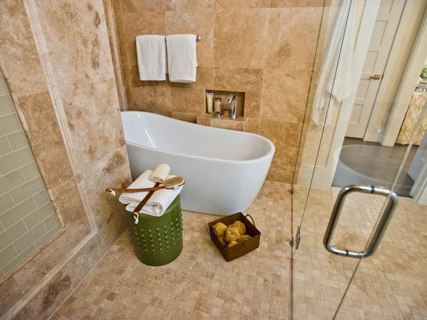 Huge tiles - for bathroom wall application